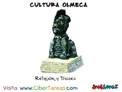 Religion y Dioses-Cultura Olmeca