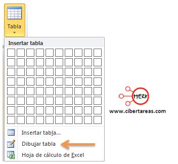 como insertar una tabla en powerpoint 2010