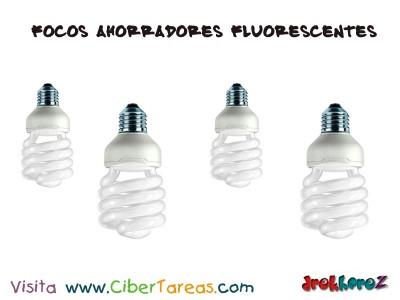 focos ahorradores fluorescentes