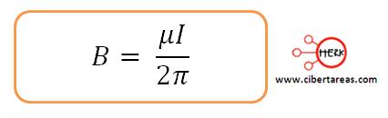 ley ampere formula