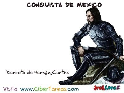Derrota Hernan Cortes-Conquista de Mexico