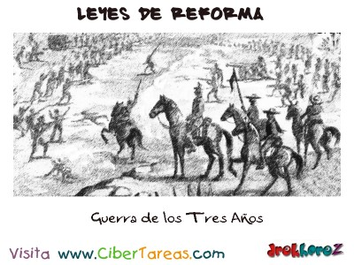 Guerra de los Tres Años-Leyes de Reforma