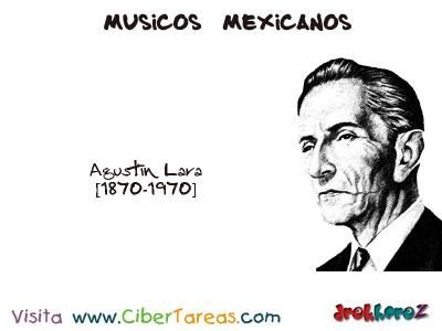 Agustin Lara-Musicos Mexicanos