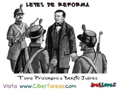 Benito Juarez-Leyes de Reforma