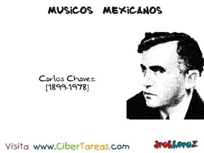 Carlos Chavez-Musicos Mexicanos