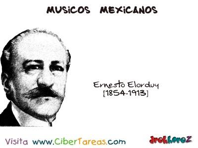 Ernesto Elorduy-Musicos Mexicanos
