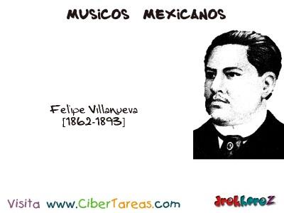 Felipe Villanueva-Musicos Mexicanos