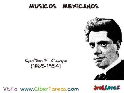 Gustavo E. Campa-Musicos Mexicanos