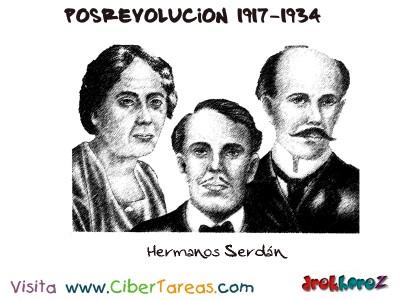Hermanos Serdan-Posrevolucion 1917-1934