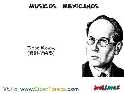Jose Rolon-Musicos Mexicanos