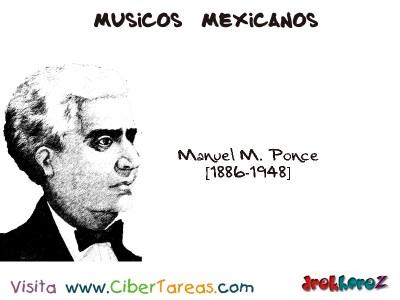 Manuel M. Ponce-Musicos Mexicanos