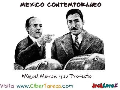 Miguel Aleman y su Proyecto-Mexico Contemporaneo