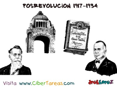 Posrevolucion 1917-1934