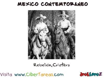 Rebelion Cristera-Mexico Contemporaneo