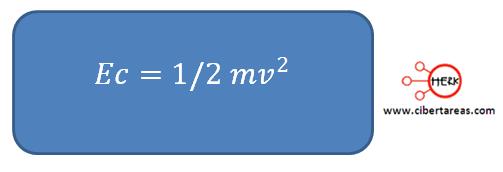 formula energia cinetica