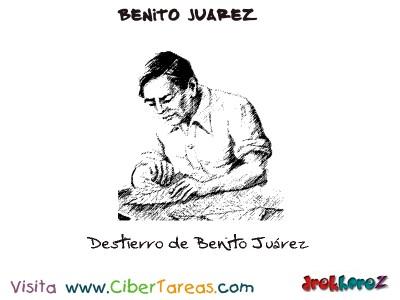 Destierro de Benito Juarez-Benito Juarez