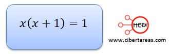 Ecuaciones cuadráticas 10