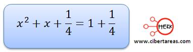 Ecuaciones cuadráticas 14
