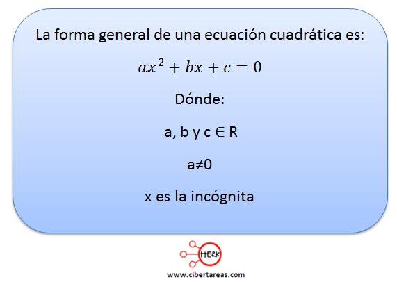 Ecuaciones cuadráticas 8