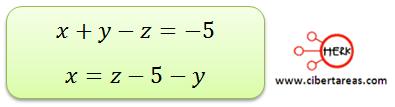 Ecuaciones simultaneas de tres por tres con solución o sin solución 1