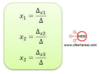 Ecuaciones simultaneas de tres por tres con solución o sin solución 10