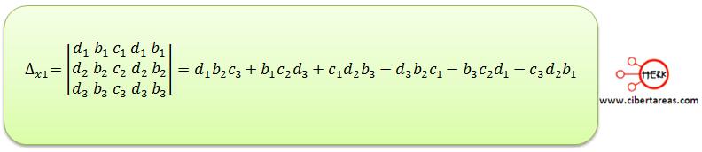 Ecuaciones simultaneas de tres por tres con solución o sin solución 7
