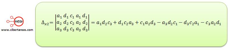 Ecuaciones simultaneas de tres por tres con solución o sin solución 8