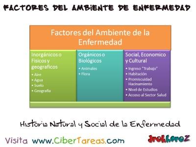 Factores del Ambiente-Enfermedad en el ser humano_Ciencias de la Salud
