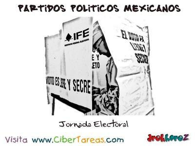 Jornada Electoral-Partidos Politicos Mexicanos