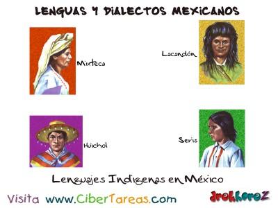 Lenguajes Indigenas en Mexico-Lenguas y Dialectos Mexicanos