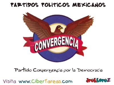 Partido Convergencia por la Democracia-Partidos Politicos Mexicanos