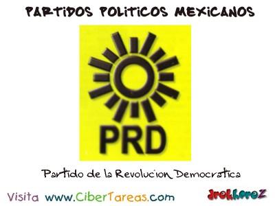 Partido de la Revolucion Democratica-Partidos Politicos Mexicanos