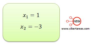 metodo algebraico por formula general 11