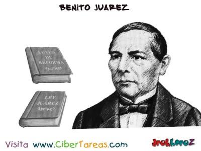 Benito Juarez promulgacion de Ley Juarez y Leyes de Reforma-Benito Juarez