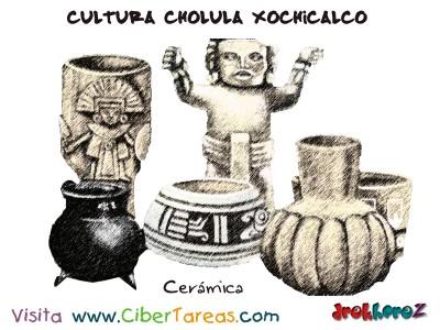 Ceramica-Cultura Cholula Xochicalco