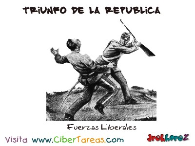 Fuerzas Liberales-Triunfo de la Republica