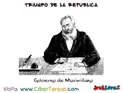 Gobierno de Maximiliano-Triunfo de la Republica