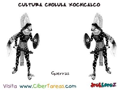 Guerras-Cultura Cholula Xochicalco