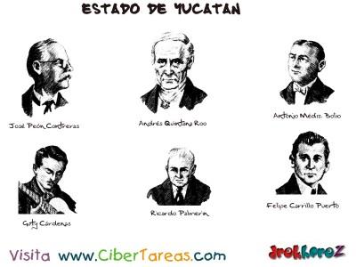 Hombres Notables-Estado de Yucatan