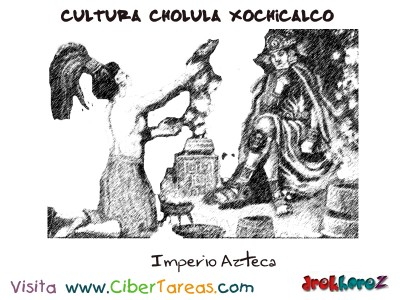 Imperio Azteca-Cultura Cholula Xochicalco
