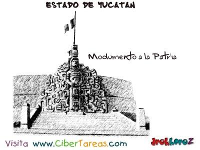 Modumento a la Patria-Estado de Yucatan