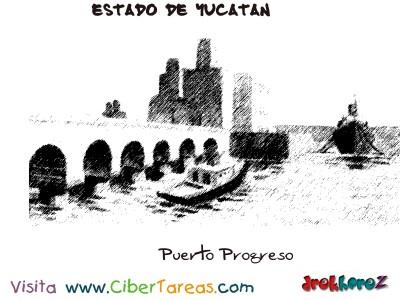 Puerto Progreso-Estado de Yucatan
