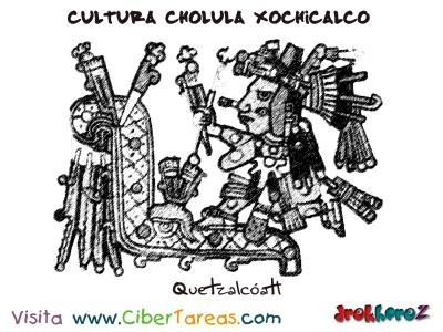 Quetzalcoatl-Cultura Cholula Xochicalco