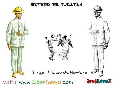 Traje Tipico de Hombre -Estado de Yucatan