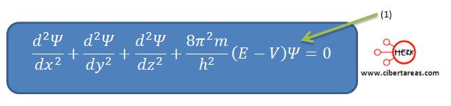 mecanica cuantica formula