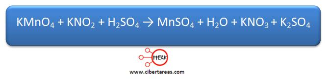 Ejemplo metodo de oxido reduccion quimica 1