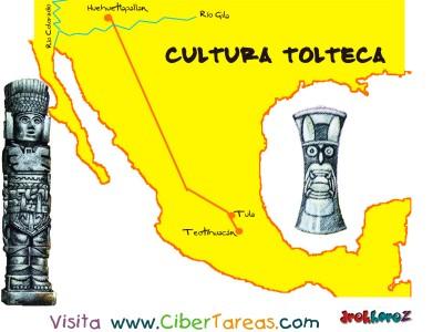 Mapa - Cultura Tolteca