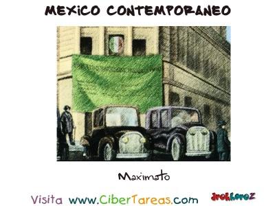 Maximato - Mexico Contemporaneo