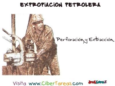 Perforacion y Extraccion - Expropiacion Petrolera