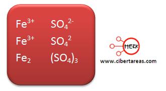 compuestos poliatomicos ejemplo 5